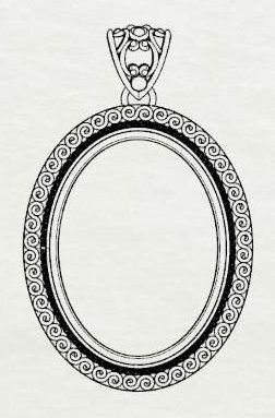 Custom Silver Jewelry Designs Step 1