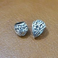 Sterling Silver Pendant Bail With Ornate  - BL012