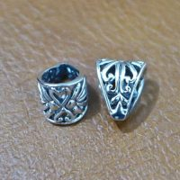 Sterling Silver Pendant Bail With Ornate  - BL013
