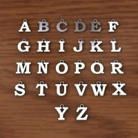 Sterling Silver Alphabet Charms  - AC0910