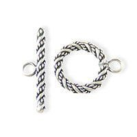Sterling Silver Toggle Clasps Ø 14.5mm - C3003