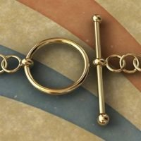 Sterling Silver Toggle Clasps size: 10-15 mm