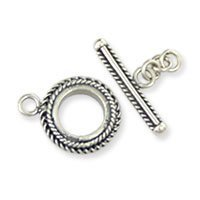 Sterling Silver Toggle Clasps Ø 16mm - C3104