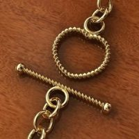 Sterling Silver Toggle Clasp 16x12.3mm - C3202