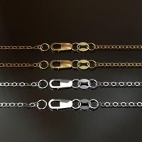 Sterling Silver Flat Cable Chain with Lobster Clasp 2x1.5mm