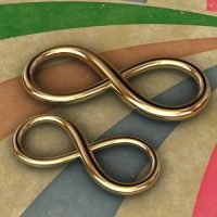 Sterling Silver Infinity Link
