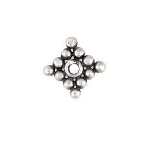 Sterling Silver Square Flat Spacers