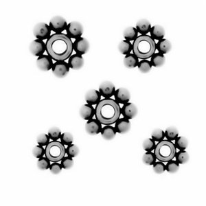 Sterling Silver Daisy Spacers