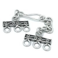 Sterling Silver Hook Clasps 78.2mm - C3162