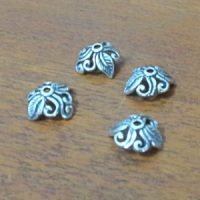 Sterling Silver Bead Caps 9×8.5mm – CAP158
