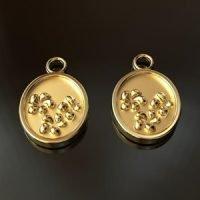 Sterling Silver Flower Charm