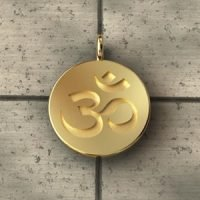 Sterling Silver Ohm Pendant Charm