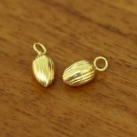Sterling Silver Drop Dangle Charms 5.5x11.5mm - DG060