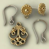 sterling silver earring findings manufacturer