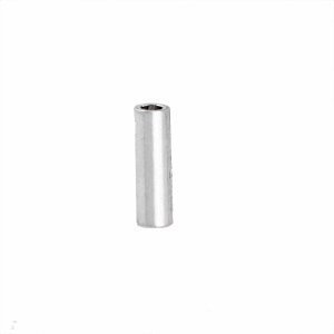 Sterling Silver  Tube Beads - B1134