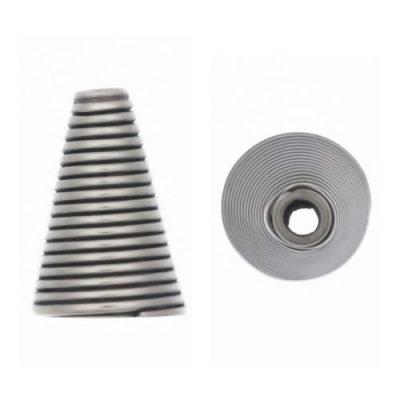 Sterling Silver  Cones