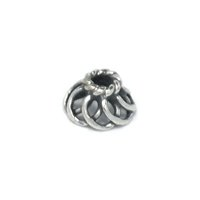 Sterling Silver Bead Caps 4.3x7.4mm - CAP032