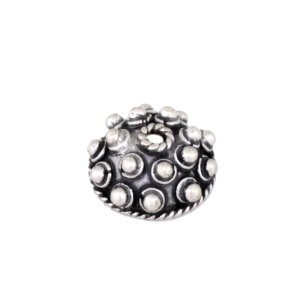 Sterling Silver Bead Caps  4.5x10mm - CAP052