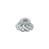 Sterling Silver Bead Caps 3x6mm - CAP113