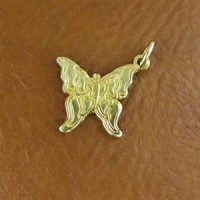 Sterling Silver Butterfly Charm 14x12.8mm - CH083