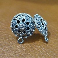 Sterling Silver  Ear Post 13mm - EP002