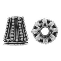 Sterling Silver Cones 11.4x10.5mm - R185