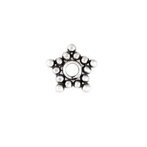 Sterling Silver Star Flat Spacers