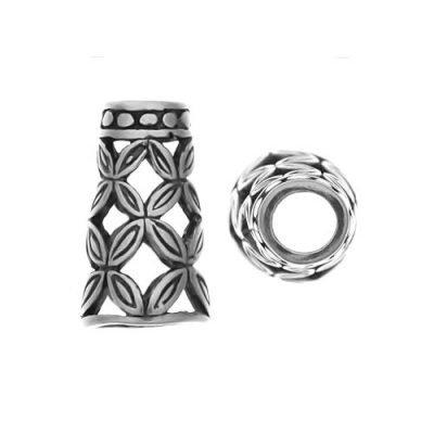 Sterling Silver Cones 11.6x7mm - CAP152