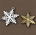 Sterling Silver snowflake charm Pendant