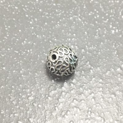 Sterling Silver Round Beads