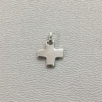 Sterling Silver Blank Cross