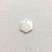 Sterling Silver Blank Hexagon