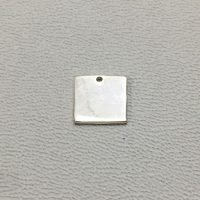 Sterling Silver Blank Square