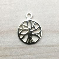 Sterling Silver Tree of life Charm – CH129
