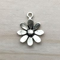 Sterling Silver Flower Charms - CH130