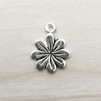 Sterling Silver Flower Charms - CH134