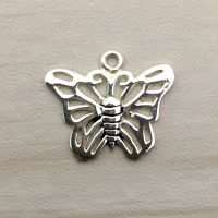 Sterling Silver Butterfly Charm – CH149