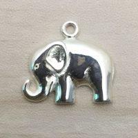 Sterling Silver Elephant Charm – CH150