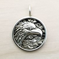 Sterling Silver Round Charm – CH151