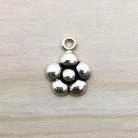 Sterling Silver Flower Charm – CH155