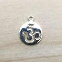 Sterling Silver Ohm Charm – CH157
