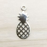 Sterling Silver Pineapple Charm - CH158