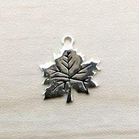 Sterling Silver Tiny Leaf Charm - LFT010