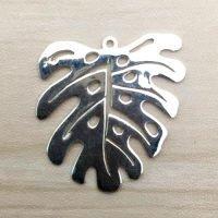 Sterling Silver Leaf Charm - LFT013