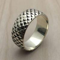 Sterling Silver Man Ring - RG9001