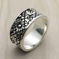 Sterling Silver Man Ring - RG9007