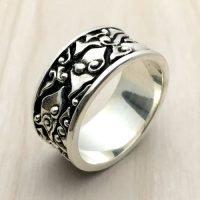 Sterling Silver Man Ring - RG9008
